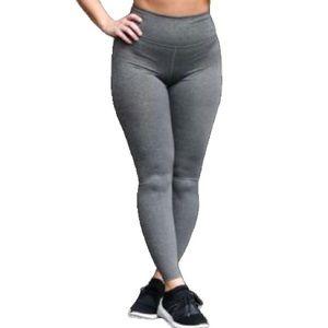 Zara Charcoal Grey High-Waisted Leggings